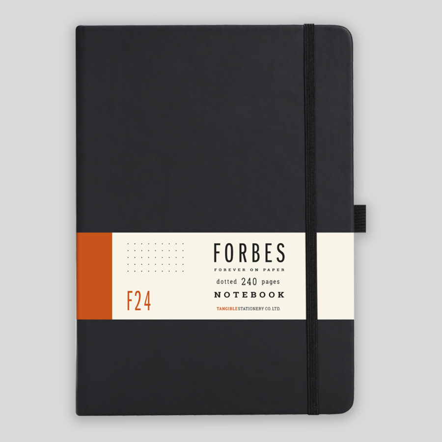 Dot Journal in Black