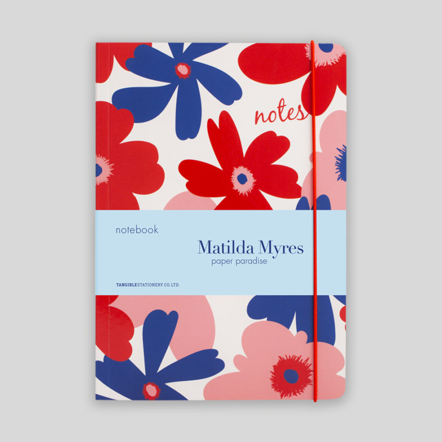 Ruled Notebooks Floral