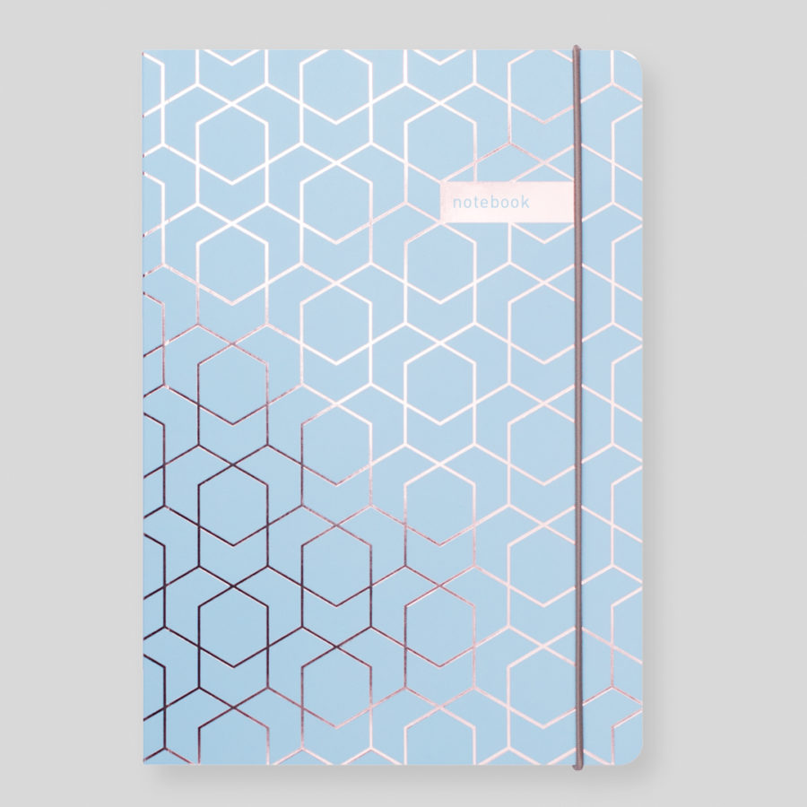 Matilda Myres Notebooks Blue