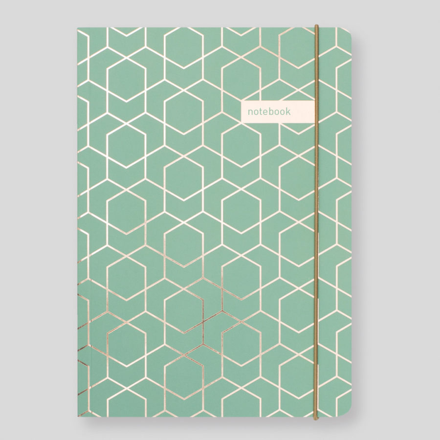 Matilda Myres Notebooks Green