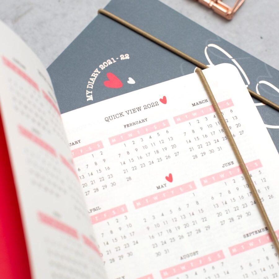 Diaries 2021-2022 A6