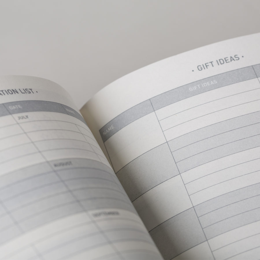Gift Planner in Your Diary