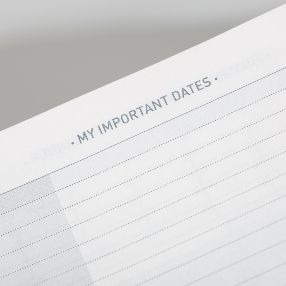 Write Own Important Dates