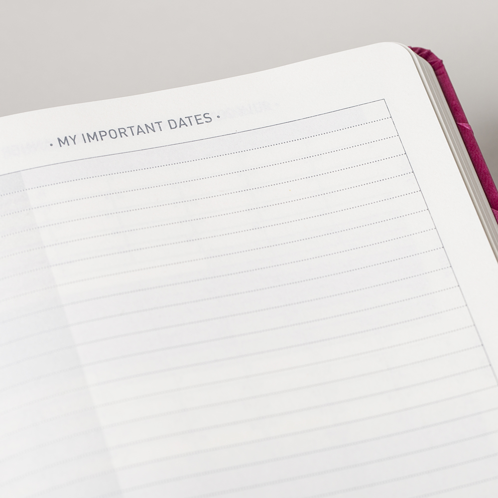Write Your Own Important Dates