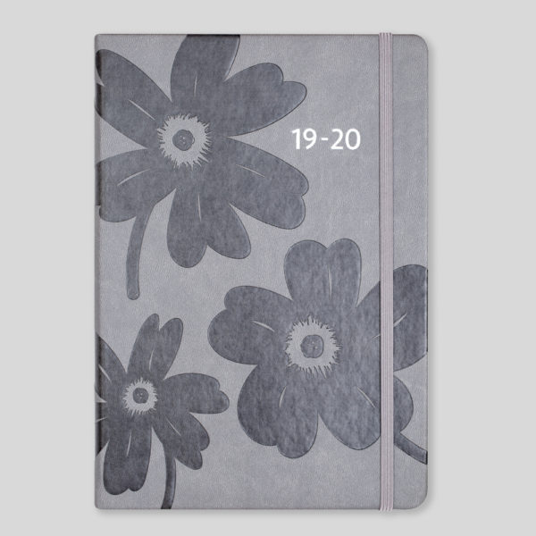 Matilda Myres 2019-20 Floral Soft Touch A5 Daily Mid Year Diary – MY100-01D
