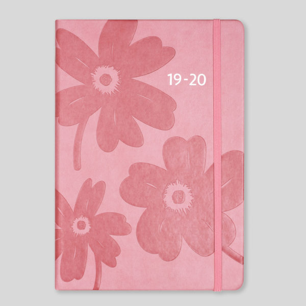 Matilda Myres 2019-20 Floral Soft Touch A5 Weekly Mid Year Diary – MY100-03W