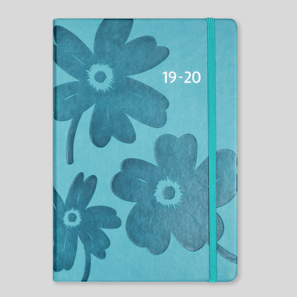 Matilda Myres 2019-20 Floral Soft Touch A5 Daily Mid Year Diary – MY100-02D