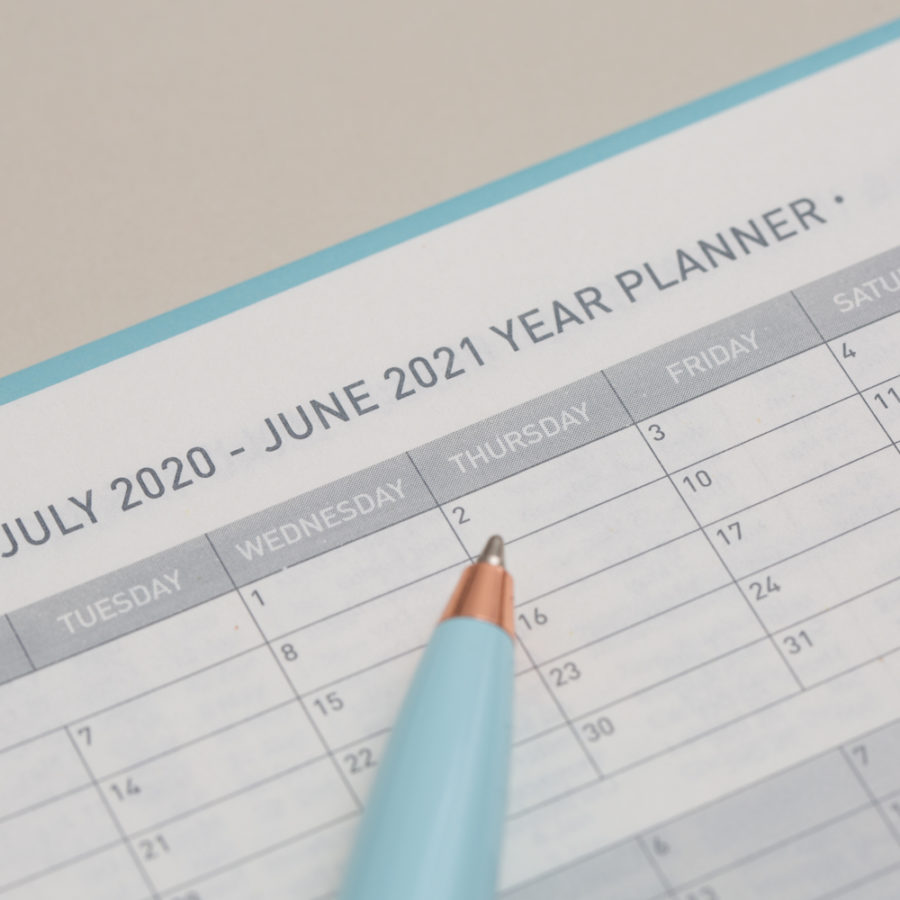2020-21 A5 Diary Planners
