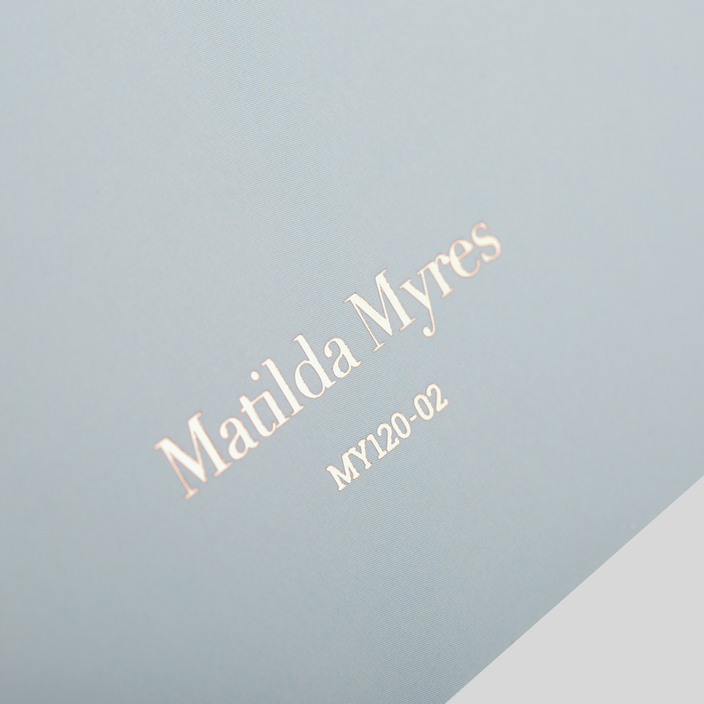 Matilda Myres on Back