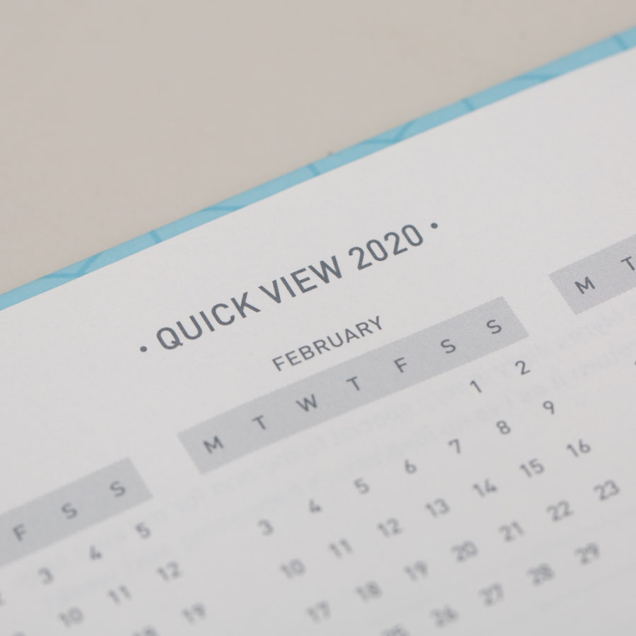 2020 Year Planners