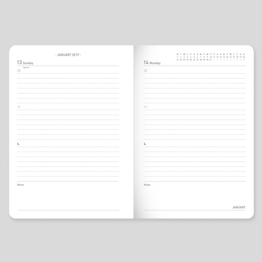 Day a Page Diary