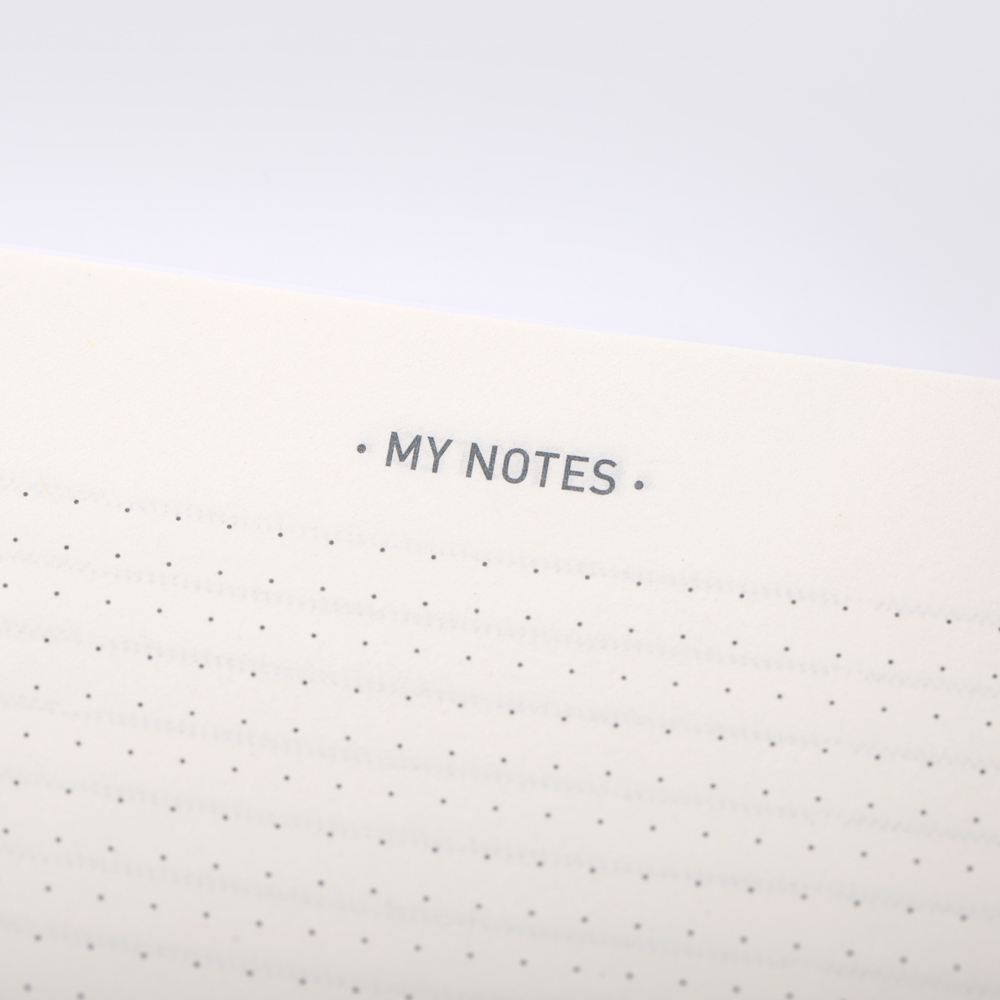 Dotted notes pages