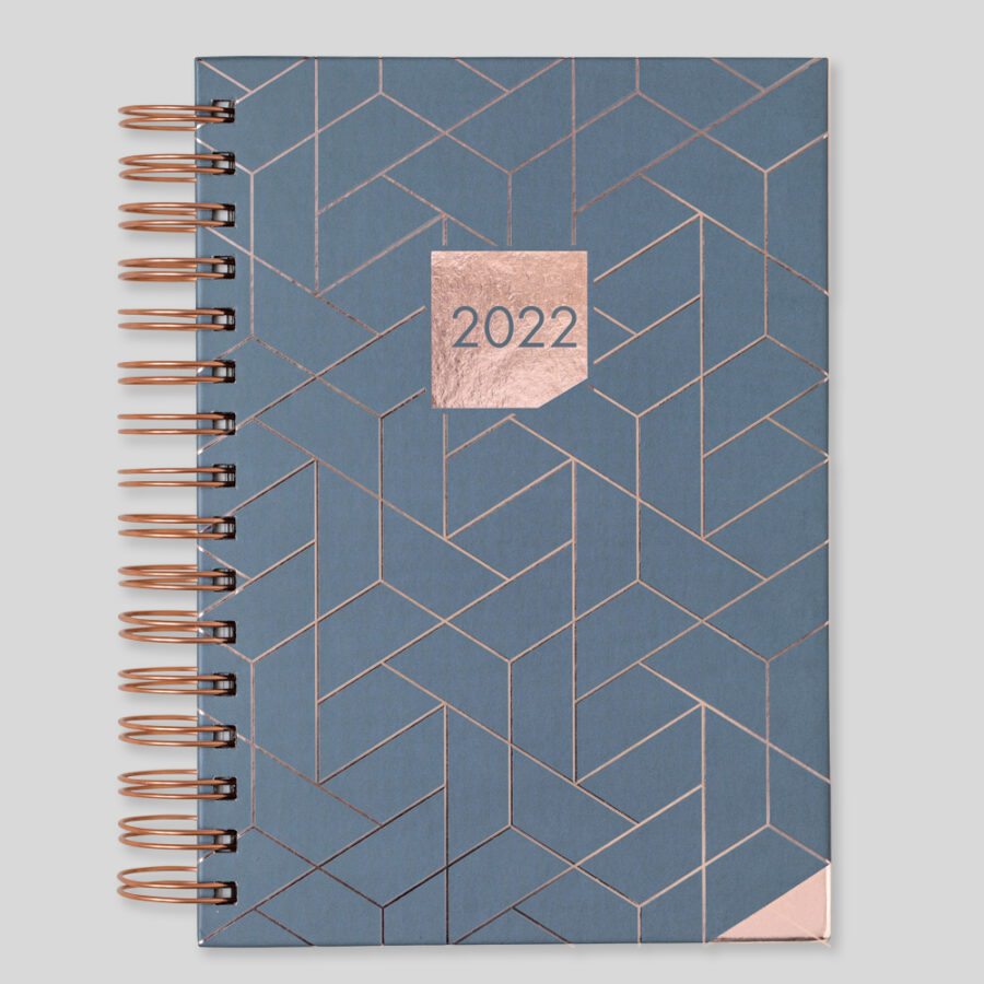 2022 Diary Matilda Myres Day a Page Diaries Grey