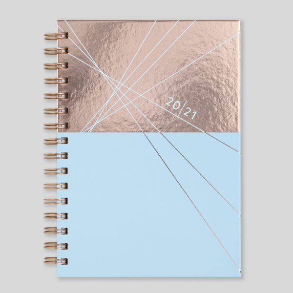 Matilda Myres 2021 Rose Gold Wiro Weekly Diary – MY115-02W-CC