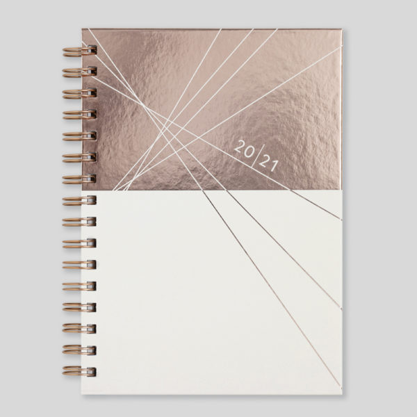 Matilda Myres 2021 Rose Gold Wiro Weekly Diary – MY115-03W-CC
