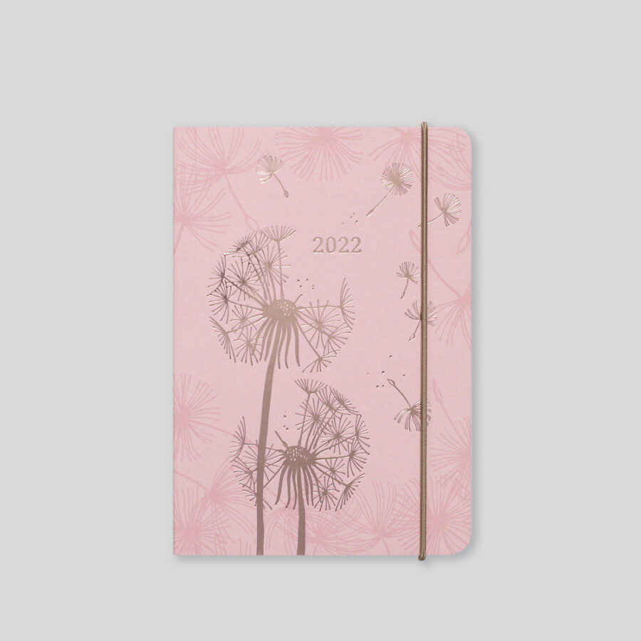 2022 A6 Day Diary Matilda Myres Pink