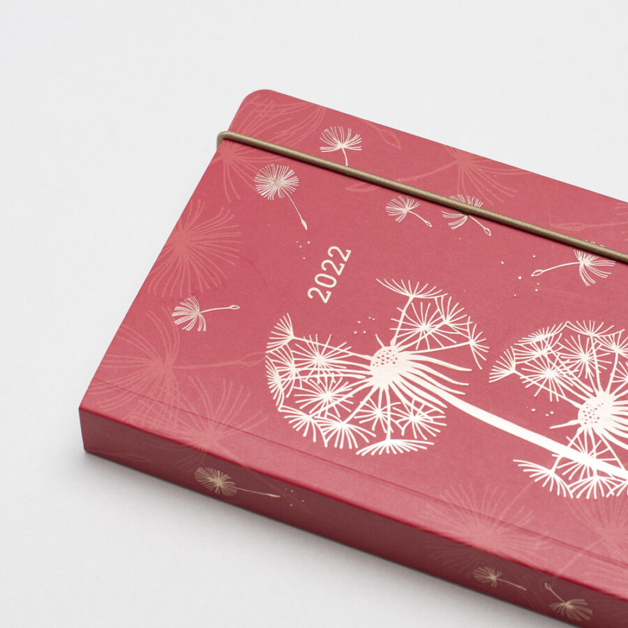 2022 Diary A6 Matilda Myers Rose Gold