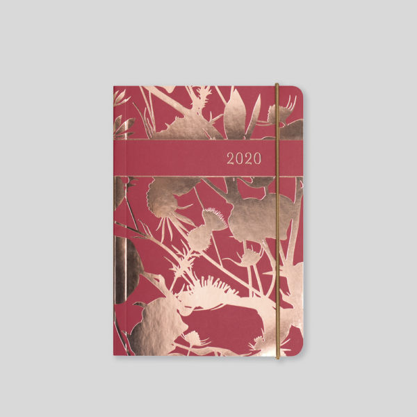 Matilda Myres 2020 Rose Gold Thistle A6 Daily Diary – MY125-03D