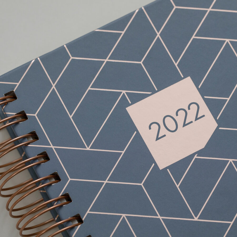 2022 Diary Matilda Myres Day a Page Diaries Grey Cover