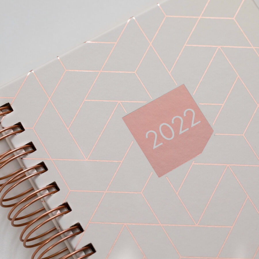 2022 Diary Matilda Myres Day a Page Diaries Ivory Cover
