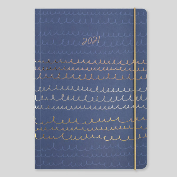 Matilda Myres 2021 Tri-Foil Scribbles A5 Weekly Diary – MY120-02W
