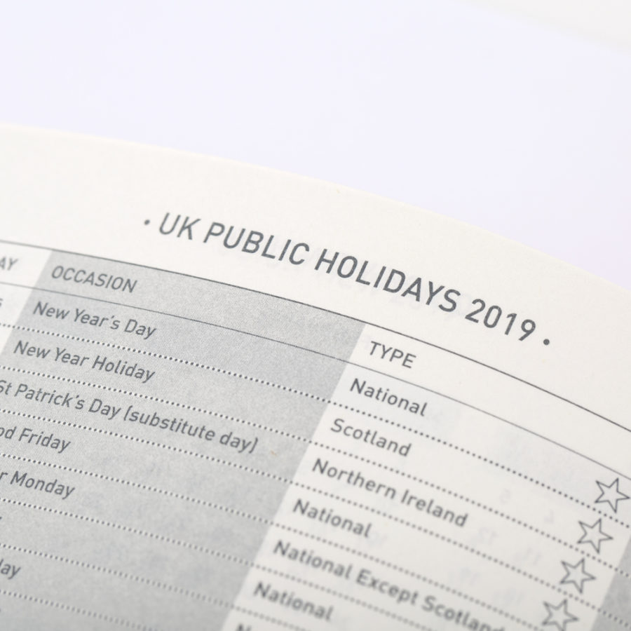 UK Public Holidays