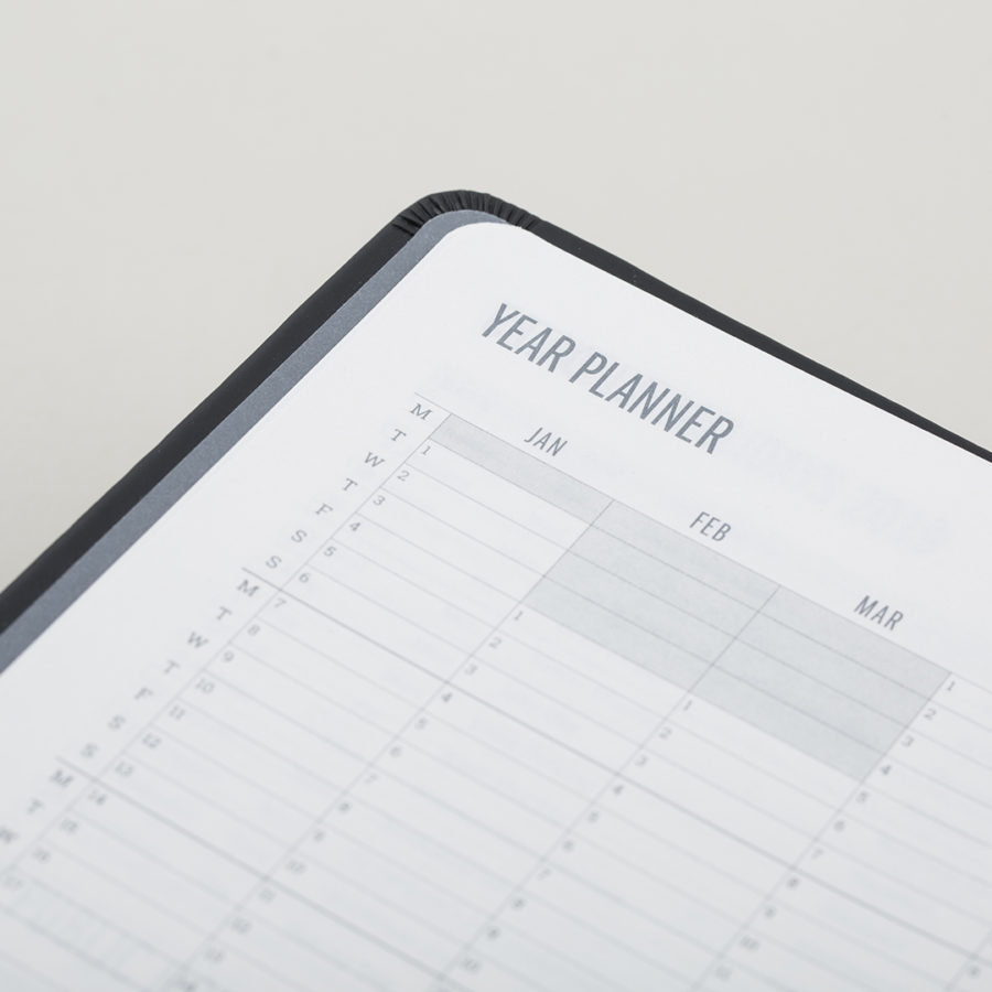 Year Planners in 2019 Diary