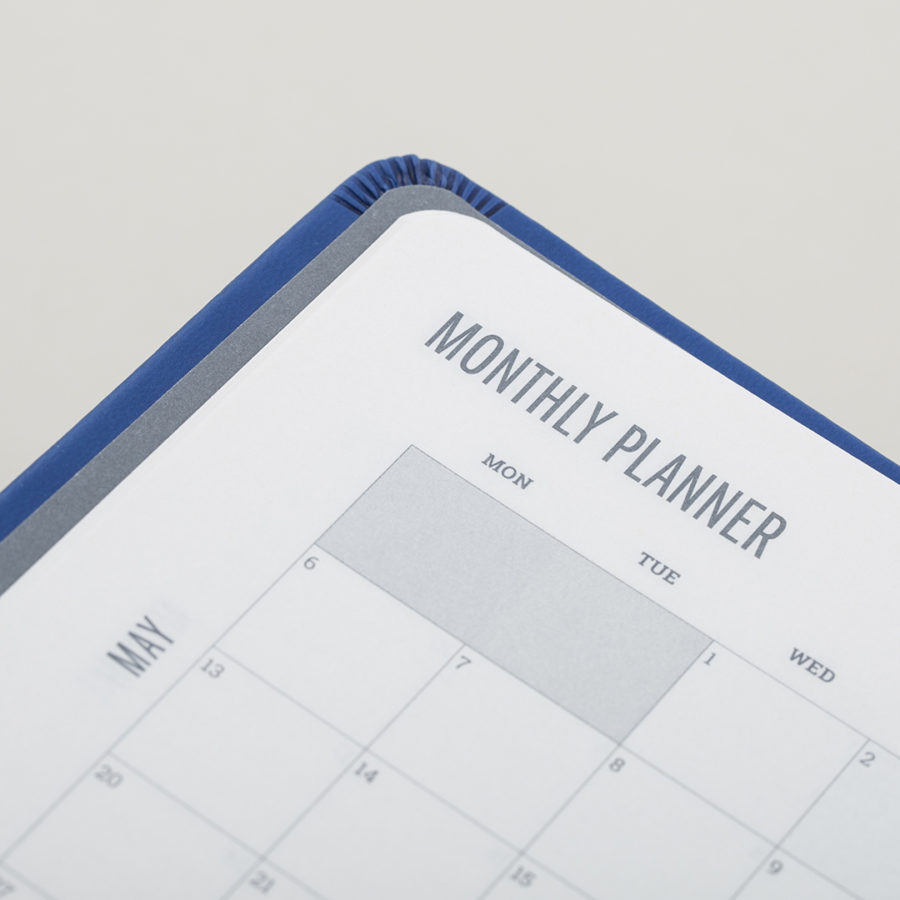 12 Monthly Planners