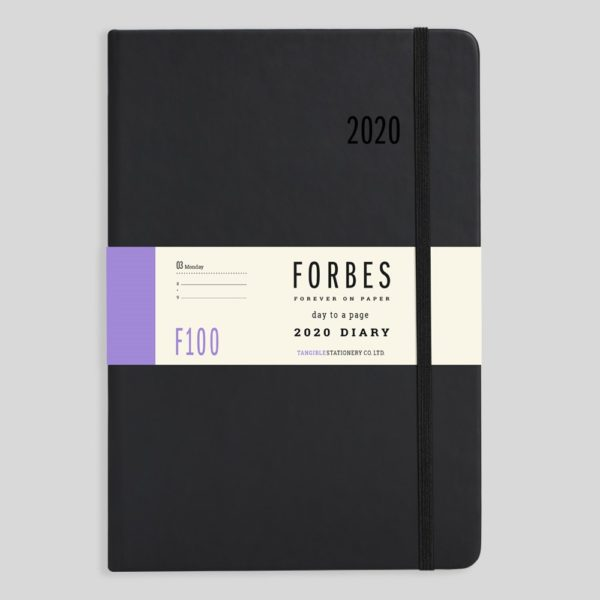 FORBES Classic 2020 A5 Day a Page Diary with Appts F100-01