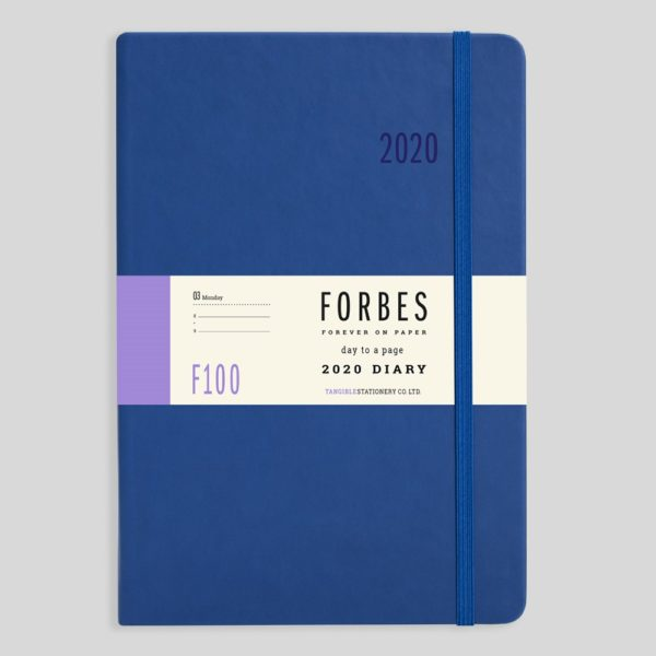 FORBES Classic 2020 A5 Day a Page Diary with Appts F100-02