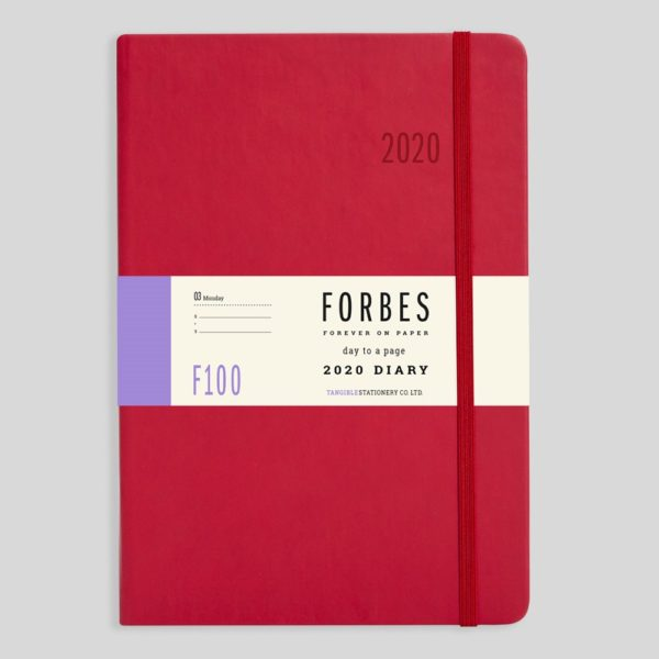 FORBES Classic 2020 A5 Day a Page Diary with Appts F100-03