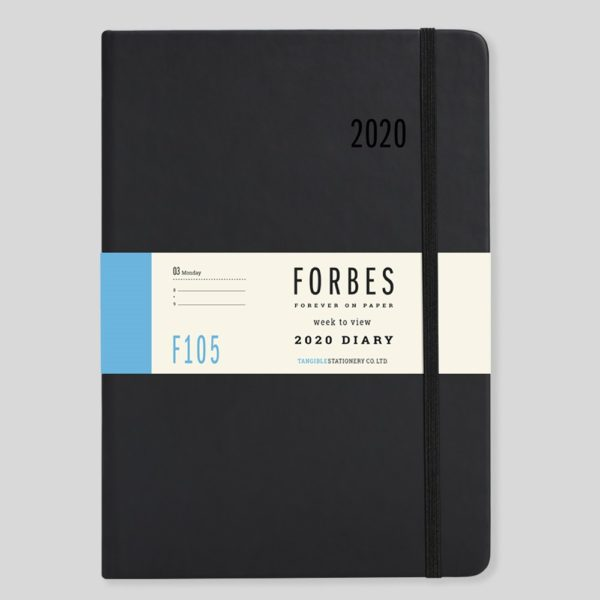 FORBES Classic 2020 A5 Week to View Diary with Appts F105-01