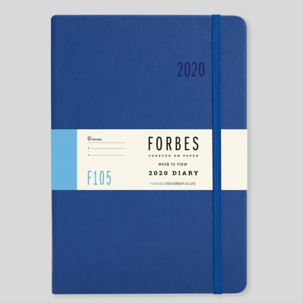 FORBES Classic 2020 A5 Week to View Diary with Appts F105-02