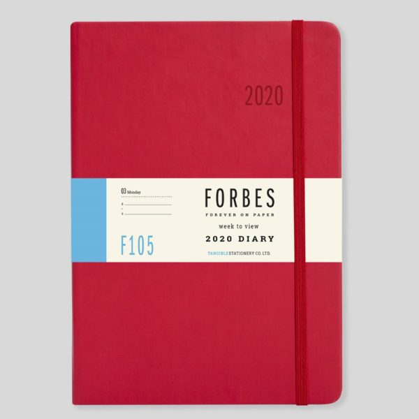 FORBES Classic 2020 A5 Week to View Diary with Appts F105-03