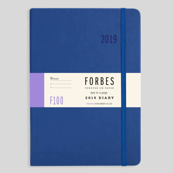 FORBES Classic 2019 A5 Day a Page Diary with Appts F100-02