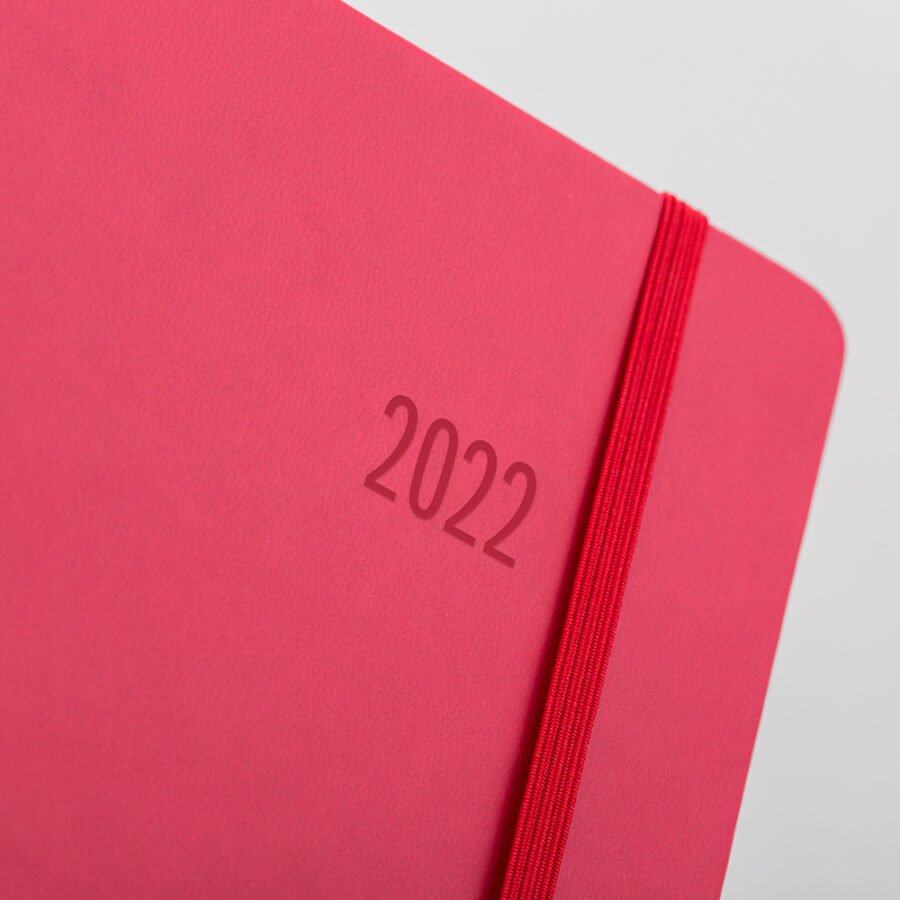 2022 Forbes Diary Red Cover