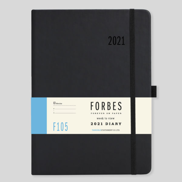 FORBES Classic 2021 A5 Week to View Diary with Appts F105-01