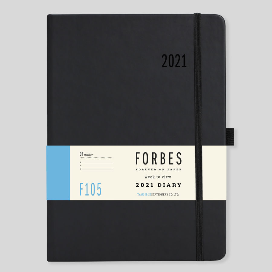 2021 Weekly Forbes Diary Black
