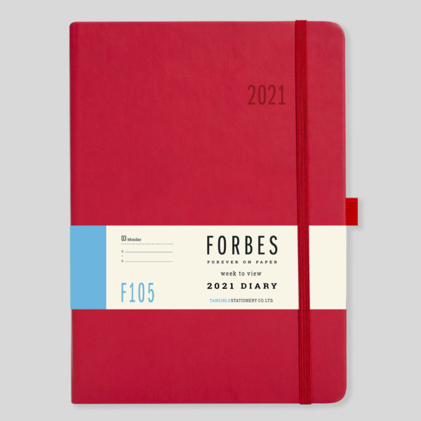 FORBES Classic 2021 A5 Week to View Diary with Appts F105-03