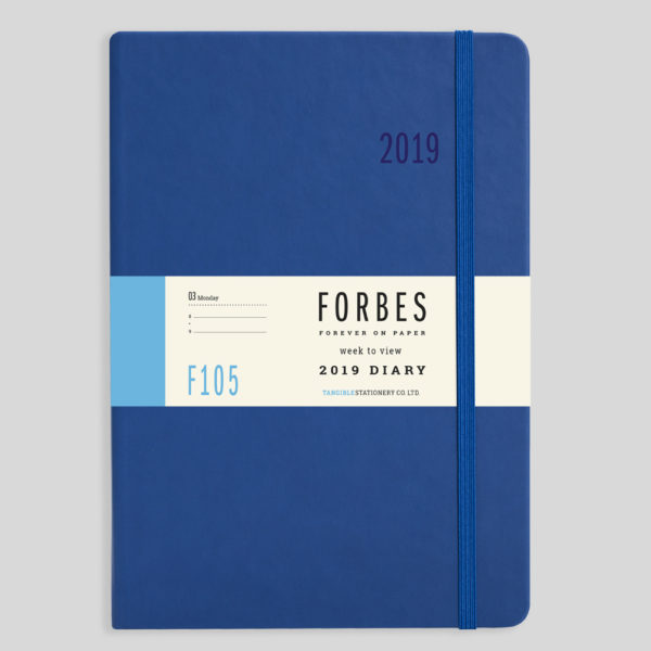 FORBES Classic 2019 A5 Week to View Diary with Appts F105-02