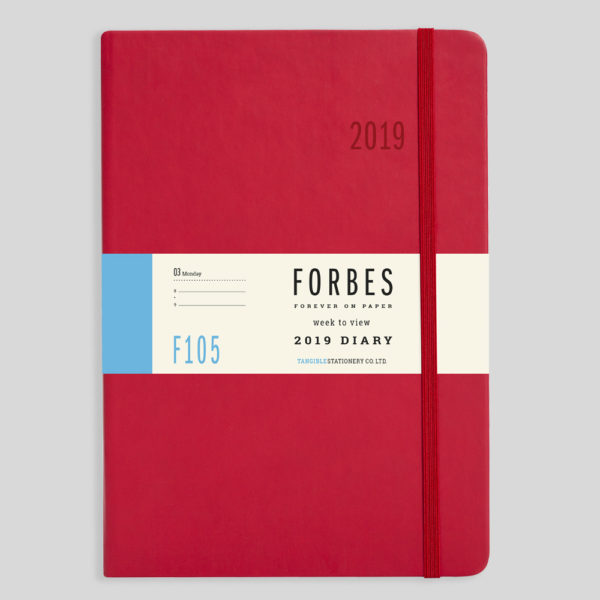 FORBES Classic 2019 A5 Week to View Diary with Appts F105-03