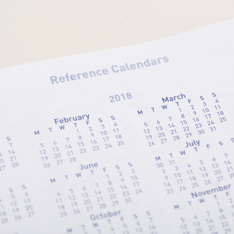 Reference calendar