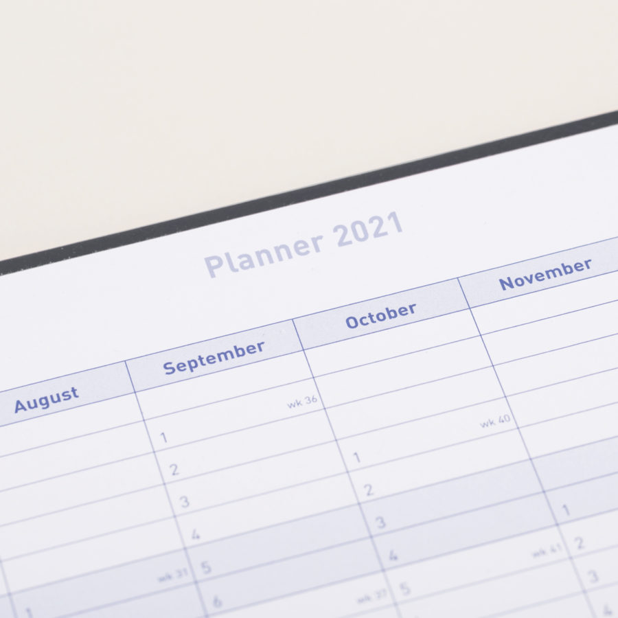 2021 A4 Weekly Diary