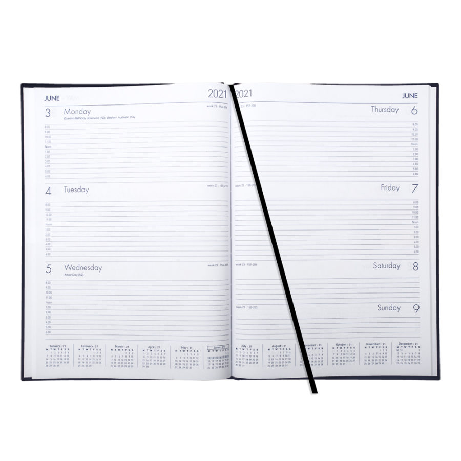 A4 Weekly 2021 Diary