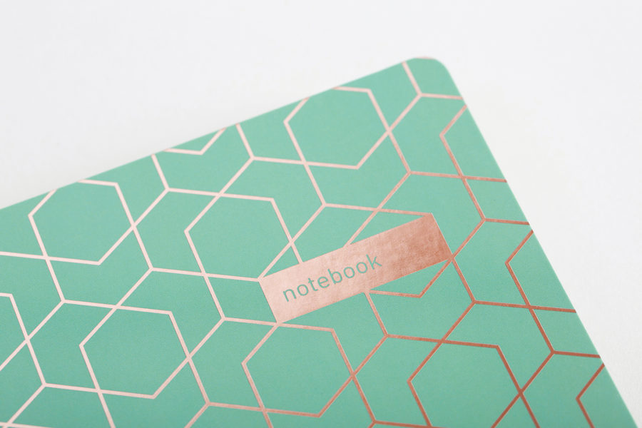 Green A5 Notebook