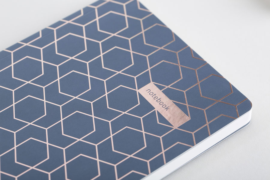 A5 Rose Gold Notebook