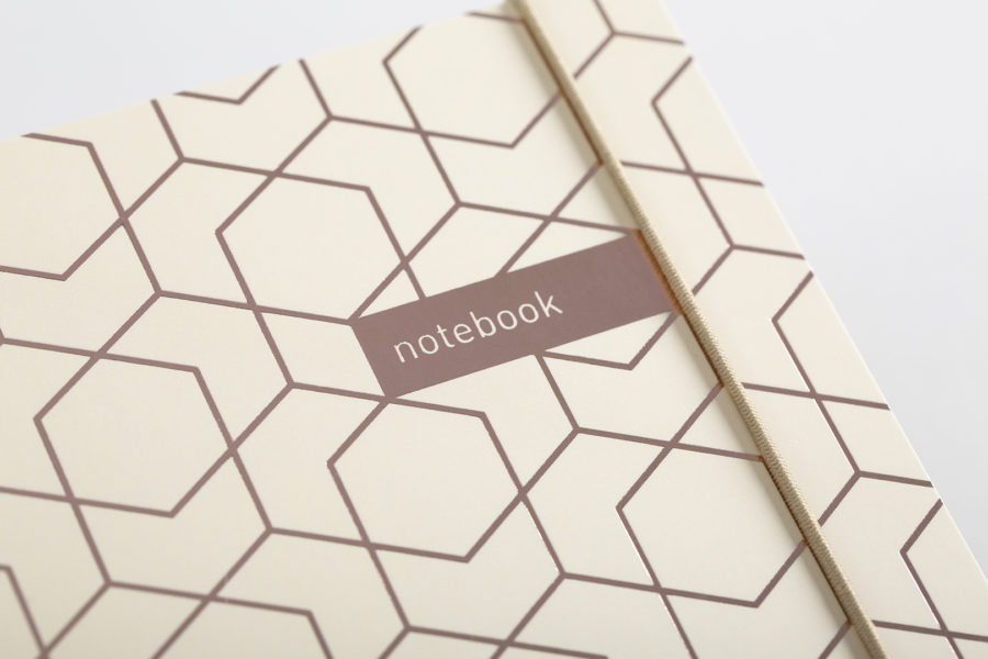 Caramel and Rose Gold Notebook