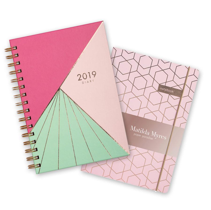 2019 diary gift set