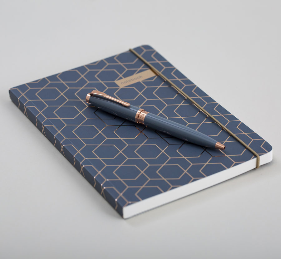 Notebook and Pen Twin Set