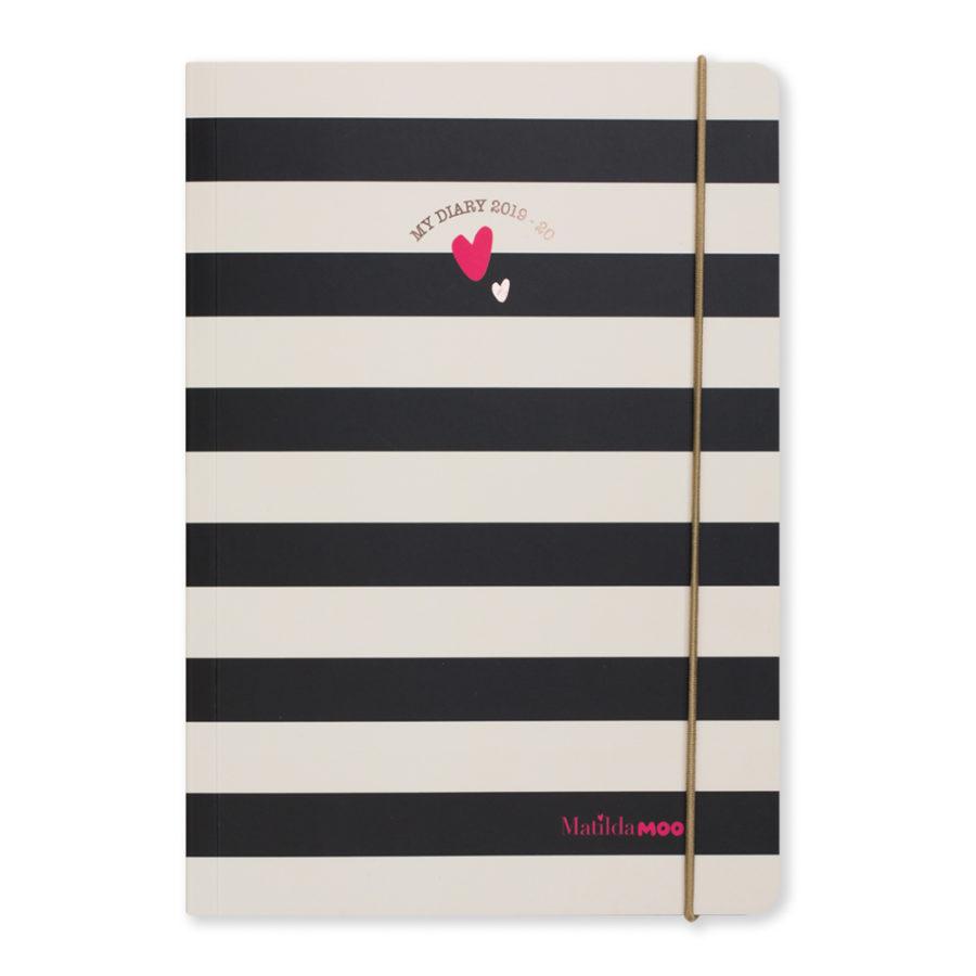 Matilda MOO 2019-20 Diary Stripe